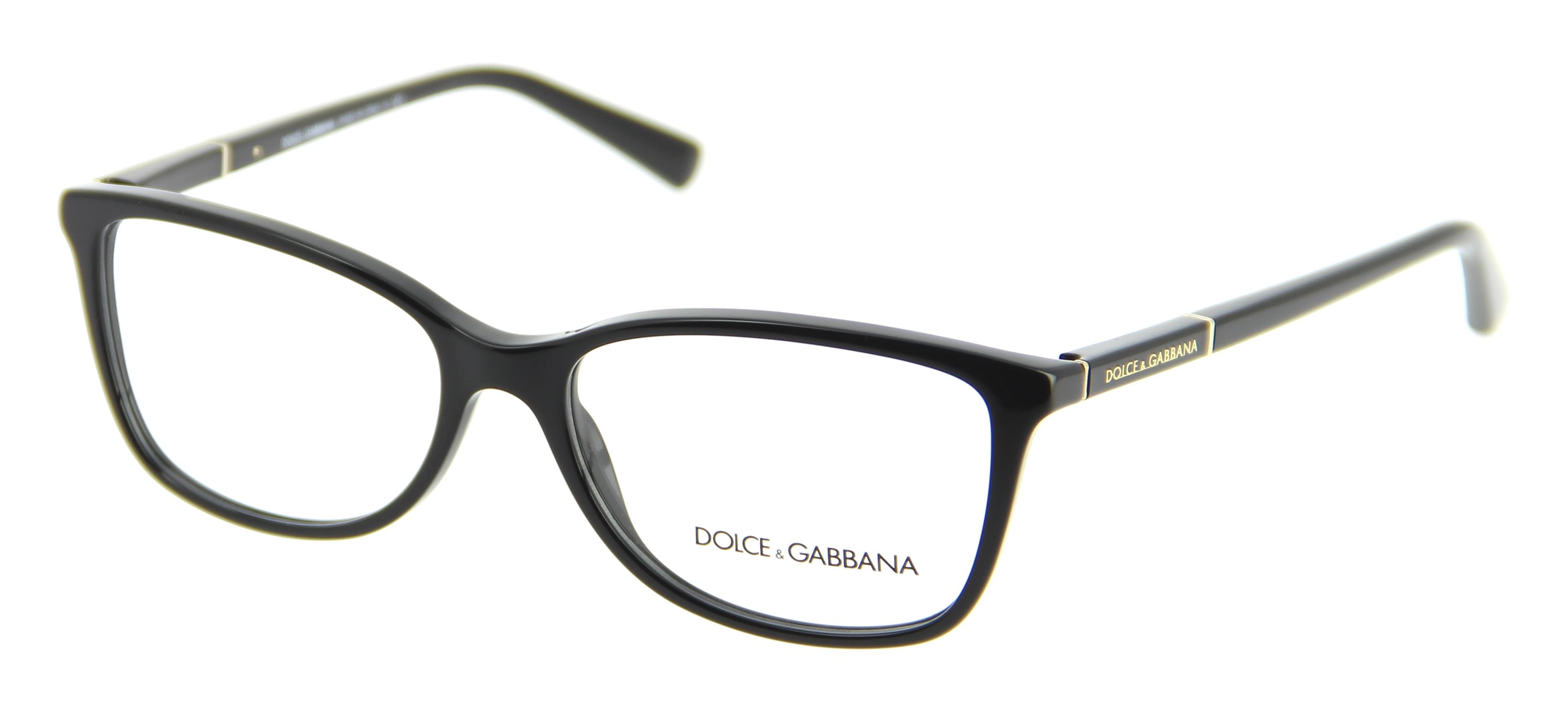 lunettes de vue dolce gabbana dg 3219 501 55 16 femme noir ovale cercl e tendance 55mmx16mm 195. Black Bedroom Furniture Sets. Home Design Ideas