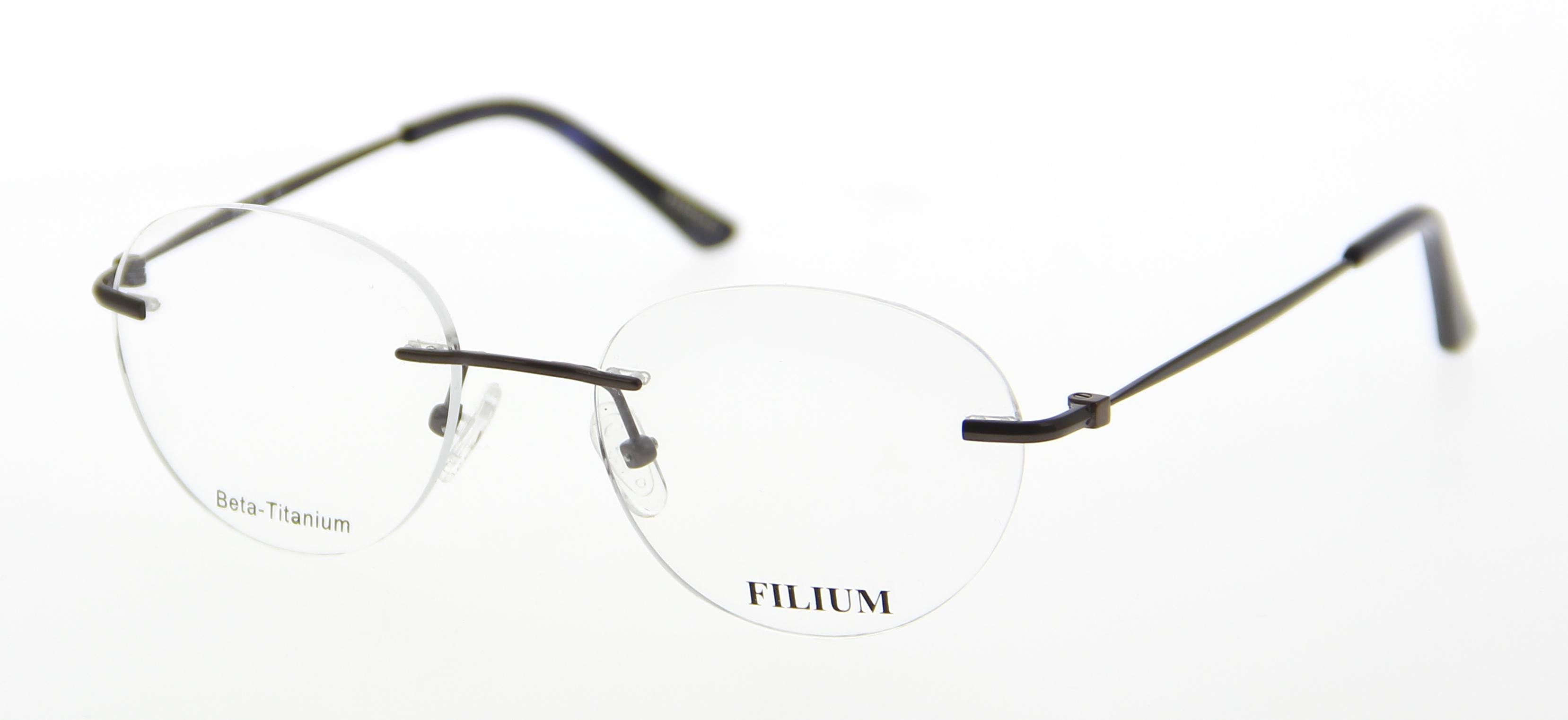 lunettes de vue filium fi 1519 marr 50 19 homme marron ovale perc 233 e classique 50mmx19mm 166