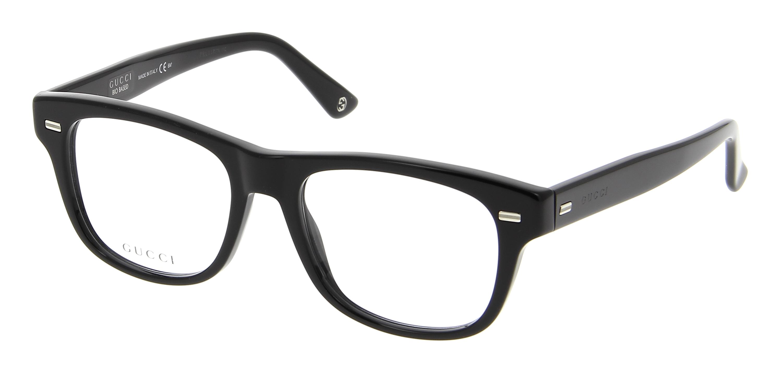 Gucci Full Frame Glasses : Eyeglasses GUCCI GG 3769 4UA 52/18 Woman Noir rectangle ...