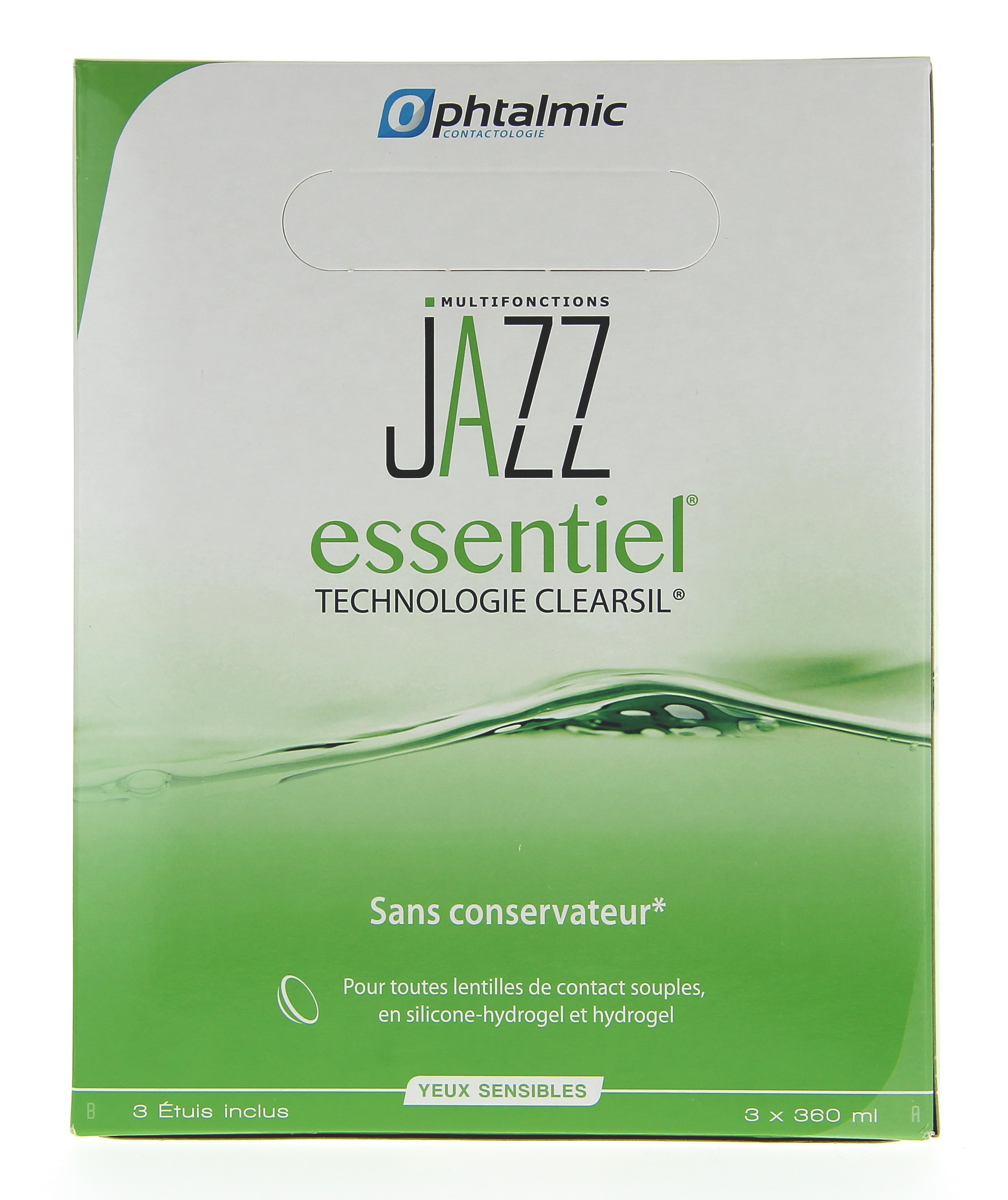 JAZZ ESSENTIEL 3x360ML