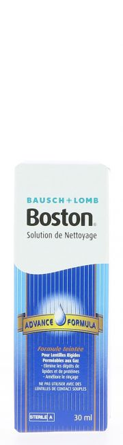 LENTILLAS Liquidos de mantenimiento BAUSCH & LOMB BOSTON ADVANCE NETTOYAGE 30 ml