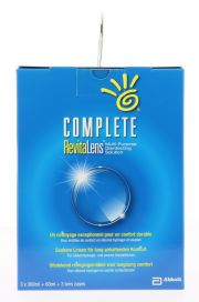 Contact lenses easy-care-solutions AMO COMPLETE REVITALENS 3x360ML + 60ML