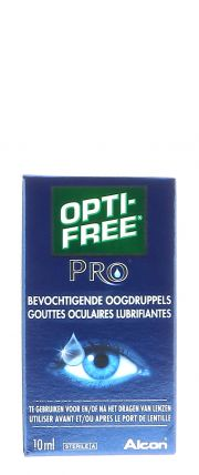 Contact lenses easy-care-solutions ALCON / CIBAVISION OPTI-FREE PRO LUBRIFIANT Flacon de 10ml