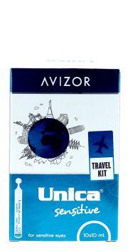 Contact lenses easy-care-solutions AVIZOR UNICA Sensitive 10 unidoses x 10 ml