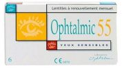Lentilles de contact OPHTALMIC OPHTALMIC 55