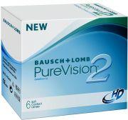 Lentilles de contact promos BAUSCH & LOMB PUREVISION 2HD